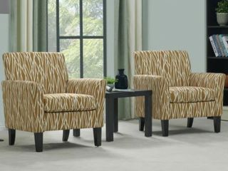 Copper Grove Fastiv Flared Armchairs  Set of 2  Retail 439 99