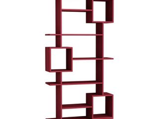Barrett 10 shelf Modern Bookcase  Retail 219 00