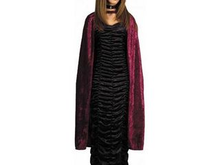 Adult Crushed Velvet 44 Inch Cape Charades 989  One Size Set Of 5