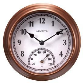 AcuRite Clock with Thermometer