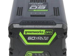 Greenworks Pro 60 Volt Cordless lithium Ion 4 0 Ah Battery