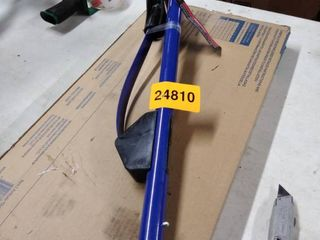 fold up shovel handle blue