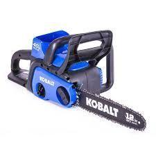 kobalt 40vmax chainsaw