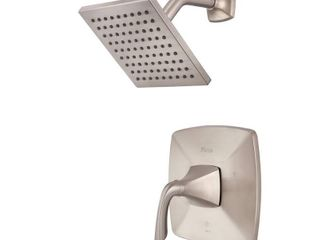 Pfister Bronson 1 Handle Shower Faucet Trim Kit in Brushed Nickel  Valve Not Included