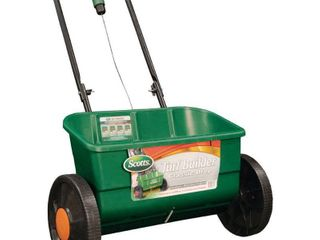 Scotts 76565 Turf Builder Classic Drop Spreader  10000 Square Foot Coverage