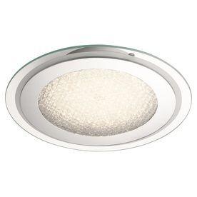 Kichler lighting 14 17 in W Chrome lED Ceiling Flush Mount light