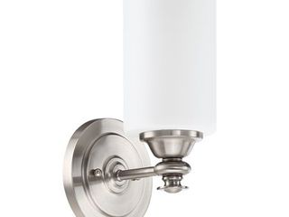 Craftmade 49801 BNK Dardyn 1 light Wall Sconce in Brushed Polished Nickel