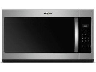 Whirlpool   1 7 Cu  Ft  Over the Range Fingerprint Resistant Microwave  Stainless Steel   Fingerprint Resistant Stainless Steel
