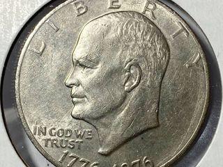 1776 1976 P Eisenhower Dollar
