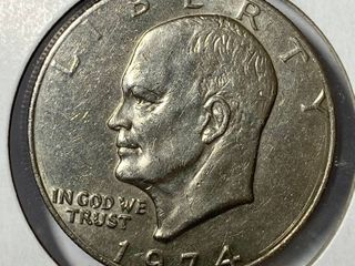 1974 P Eisenhower Dollar