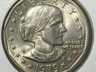 1979 D Susan B  Anthony Dollar
