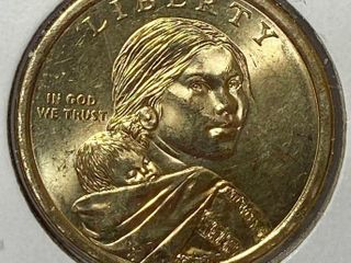 2010 Sacagawea ONE DOllAR Coin   GREAT lAW OF PEACE