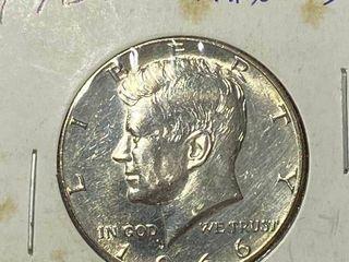 1966 Kennedy Half Dollar