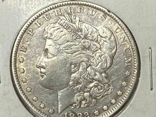 1882 O  1 Morgan Silver Dollar