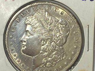 1880 S  1 Morgan Silver Dollar