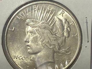 1923 P Peace Silver Dollar