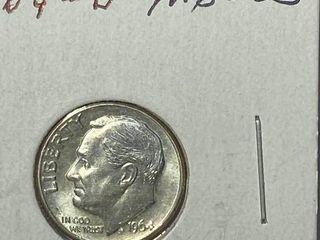1964 D Roosevelt Dime