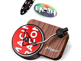 Retro Record Player Car Decor Record Player Design Car Air Freshener Automotive Air Freshener Purifier With DIY Possible Tablets for Car Home Office  3 Aromatherapy Tablets Included