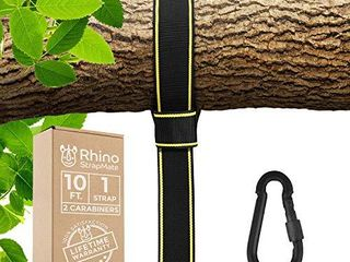 Tree Swing Strap Hanging Kit 10ft Strap  Holds 2800 lbs  SGS Certified  Fast   Easy Way to Hang Any Swing