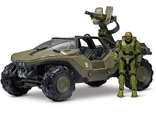 Halo 4  World of Halo Deluxe Vehicle   Figure Pack Warthog with Master Chief