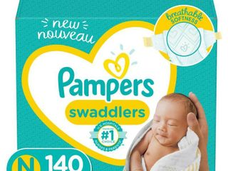 Pampers Swaddlers Diapers   Size Newborn   140ct