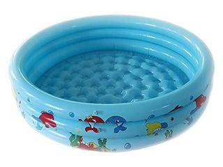 Noetoy Swimming Pool for Kids  47 x 9 8 Inch Round Inflatable Plastic Kiddie Pool  Summer Outdoor Garden Backyard Play Set for Toddler Boys Girls
