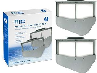 Fette Filter   Dryer lint Screen Compatible with Samsung DC97 16742A  Pack of 2