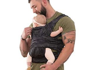 Boppy ComfyFit Hybrid Baby Carrier  Black Gray Camo