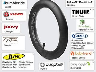 Steerling Tire Co   2 Pack  16  x 1 5 1 75 Heavy Duty Thorn Resistant Inner Tire Tube for BOB Revolution SE Flex Pro Sport Utility Ironman Strollers   The Perfect BOB Stroller Tire Tube Replacement