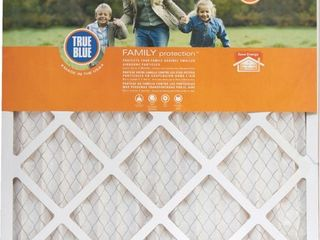 lot of 4   True Blue Family Protection Furnace Filter