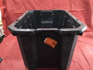 Husky 25 gallon latch and Stack Tote No lid