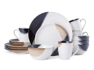Mikasa Gourmet Basics Caden 16 Piece Dinnerware Set