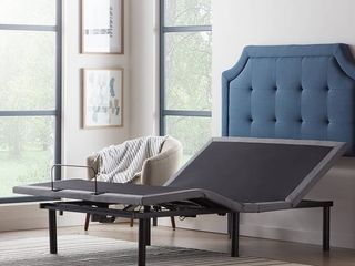 lUCID Comfort Collection Deluxe Adjustable Bed Base  Twin Xl