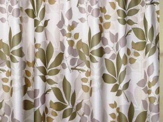 Shadow leaves Shower Curtain with Hooks