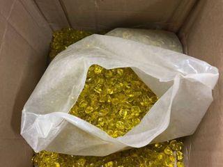 Fire Glass Dots 10 lbs Sunflower Yellow