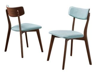 Christopher Knight Home   Chazz Mid century Dining Chair  Set of 2