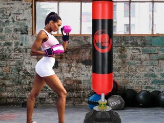 Freestanding Punching Bag Heavy Solid Boxing Bag