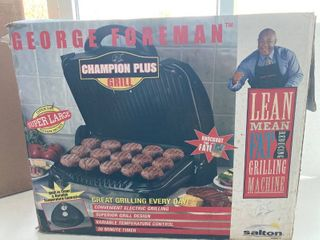 NEW George foreman super large grill
