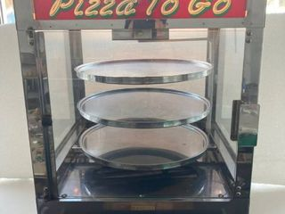 server Pizza Display w  oven