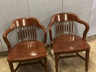 2 captains chairs