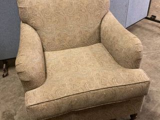 plush living room chair