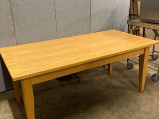 3 x 6 wood dining table