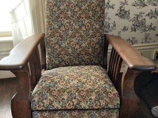 Beautiful Antique Recliner