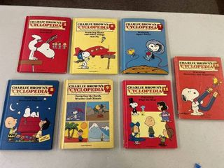Charlie Brown Encyclopedia Books  Volumes Shown
