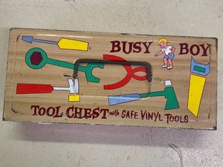 Busy Box With Tools Ohio Art
