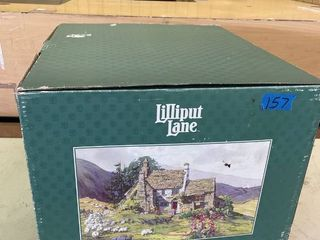 lARGE lilliput lane Out Of The Storm 1993 3000 With Certificate