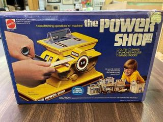 The Power Shop Mattel 1978  Cuts Wood  No Batteries Needed