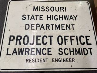 Missouri State Highway Department Project Office 24x24