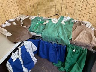 large lot Girl Scout Uniforms  Skirts  Shirts  Pants  Shorts  amp  Jumpers