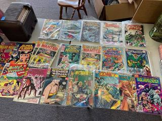 20  Vintage  amp  New Comic Books  Marvel And DC